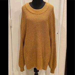 H&M Gold Sweater XL